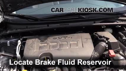 2018 Toyota Corolla XLE 1.8L 4 Cyl. Brake Fluid