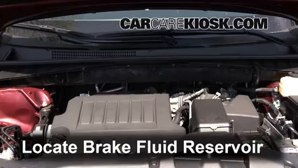 2014 Toyota Highlander LE 3.5L V6 Brake Fluid Check Fluid Level