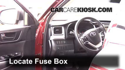 2014 Toyota Highlander LE 3.5L V6 Fusible (interior) Cambio