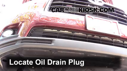 2014 Toyota Highlander LE 3.5L V6 Oil Change Oil and Oil Filter