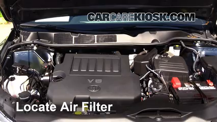 2014 Toyota Venza LE 3.5L V6 Air Filter (Engine)