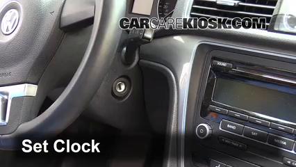 2014 Volkswagen Passat SEL Premium 1.8L 4 Cyl. Sedan (4 Door) Clock