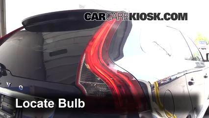 2014 Volvo XC60 T6 3.0L 6 Cyl. Turbo Luces Luz trasera (reemplazar foco)