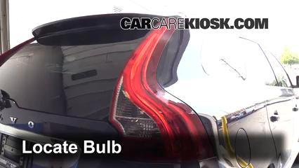 2014 Volvo XC60 T6 3.0L 6 Cyl. Turbo Luces Luz de giro trasera (reemplazar foco)