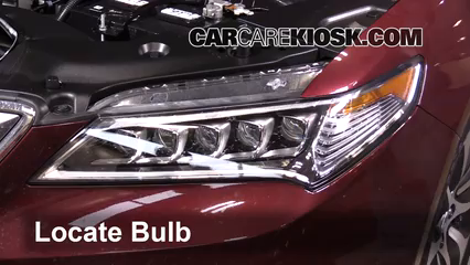Headlight Change Acura TLX Acura TLX L Cyl - 2018 acura tl headlights