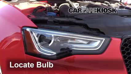 Headlight Change 2013-2015 Audi RS5 - 2015 Audi RS5 4 2L V8