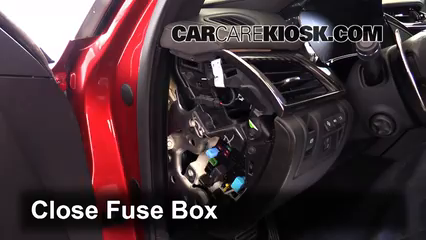 interior fuse box location 2015 2019 cadillac cts 2015. Black Bedroom Furniture Sets. Home Design Ideas