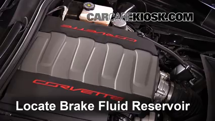 2015 Chevrolet Corvette Stingray 6.2L V8 Convertible Brake Fluid