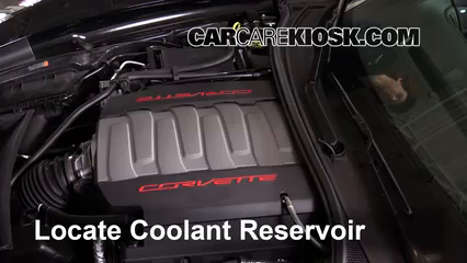 2015 Chevrolet Corvette Stingray 6.2L V8 Convertible Coolant (Antifreeze)