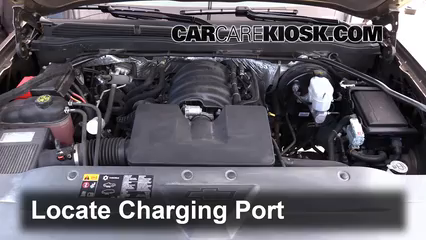How to Add Refrigerant to a 2014-2018 Chevrolet Silverado 1500