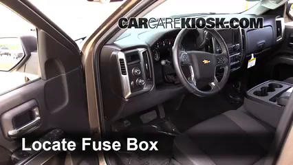 Interior    Fuse       Box    Location  20142018 Chevrolet    Silverado    1500  2015 Chevrolet    Silverado    1500