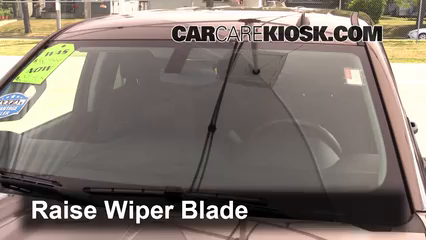 2015 Chevrolet Silverado 1500 LT 4.3L V6 FlexFuel Extended Cab Pickup Windshield Wiper Blade (Front) Replace Wiper Blades