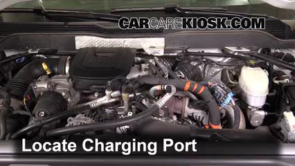 How to Add Refrigerant to a 2015-2019 Chevrolet Silverado 2500 HD