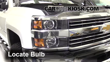 Headlight Change 2015-2019 Chevrolet Silverado 2500 HD - 2015
