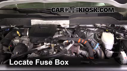 Blown Fuse Check 2015-2019 Chevrolet Silverado 2500 HD