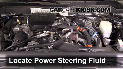 2015 Chevrolet Silverado 2500 HD LT 6.6L V8 Turbo Diesel Crew Cab Pickup Power Steering Fluid
