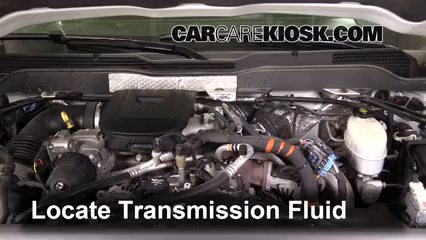 2015 Chevrolet Silverado 2500 HD LT 6.6L V8 Turbo Diesel Crew Cab Pickup Transmission Fluid