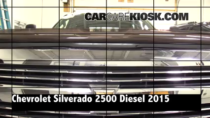 2015 Chevrolet Silverado 2500 HD LT 6.6L V8 Turbo Diesel Crew Cab Pickup Review