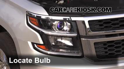 Headlight Change 2014 2017 Chevrolet Suburban 2015
