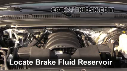 2015 Chevrolet Suburban LT 5.3L V8 FlexFuel Brake Fluid