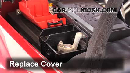 How To Jumpstart A 20142018 Chevrolet Tahoe 2015. 6 Replace Cover Ensure The Is Put Back Properly. Wiring. 2014 Silverado Battery Wiring Diagram At Scoala.co
