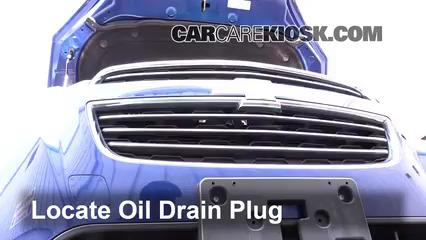 Oil & Filter Change Chevrolet Trax (2015-2019) - 2015