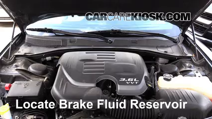 2015 Dodge Charger SE 3.6L V6 FlexFuel Brake Fluid