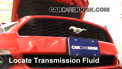 2015 Ford Mustang EcoBoost 2.3L 4 Cyl. Turbo Transmission Fluid Check Fluid Level