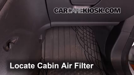 2015 Ford Transit Connect XL 2.5L 4 Cyl. Mini Cargo Van Air Filter (Cabin)