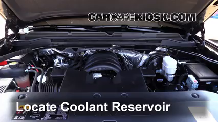 2015 GMC Sierra 1500 SLE 5.3L V8 FlexFuel Extended Cab Pickup Coolant (Antifreeze) Fix Leaks