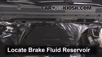 2015 GMC Sierra 2500 HD 6.0L V8 FlexFuel Extended Cab Pickup Brake Fluid Add Fluid