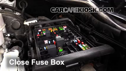 blown fuse check 2014 2017 gmc yukon xl 2015 gmc yukon xl slt 5 3l Fuse Diagram Simple 6 replace cover secure the cover and test component