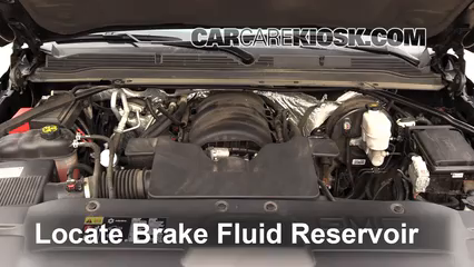 2015 gmc yukon xl slt 5 3l v8 flexfuel brake fluid check fluid level