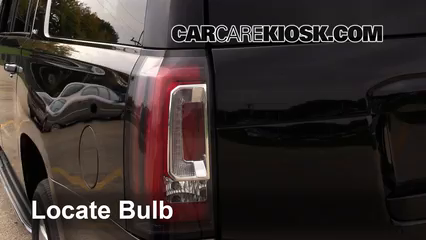 2015 GMC Yukon XL SLT 5.3L V8 FlexFuel Lights