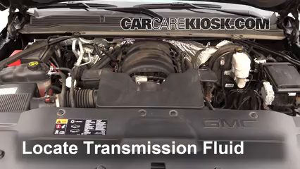 2015 GMC Yukon XL SLT 5.3L V8 FlexFuel Transmission Fluid
