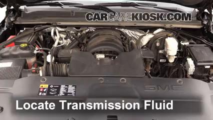 Add Transmission Fluid: 2015-2019 GMC Yukon XL - 2015 GMC