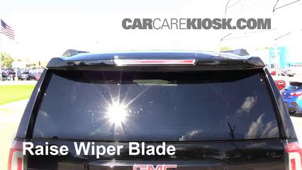Rear Wiper Blade Change GMC Yukon XL (2015-2019) - 2015 GMC