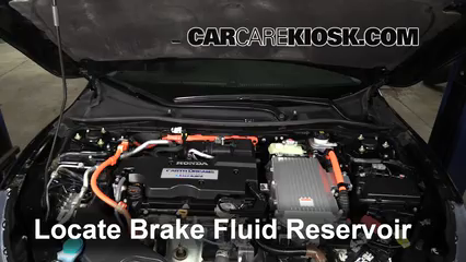 2015 Honda Accord Hybrid Touring 2.0L 4 Cyl. Brake Fluid