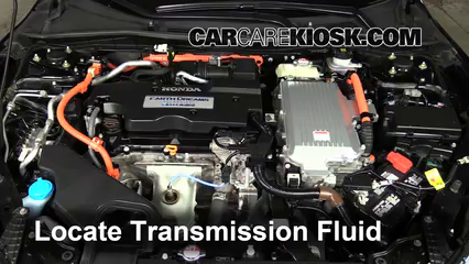 2015 Honda Accord Hybrid Touring 2.0L 4 Cyl. Transmission Fluid