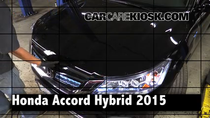 2015 Honda Accord Hybrid Touring 2.0L 4 Cyl. Review