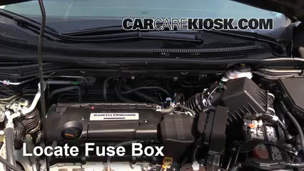 Blown Fuse Check 2012-2016 Honda CR-V - 2015 Honda CR-V EX ...