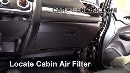2015 Honda Fit EX 1.5L 4 Cyl. Air Filter (Cabin)