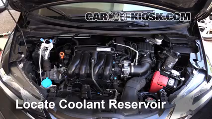 2015 Honda Fit EX 1.5L 4 Cyl. Coolant (Antifreeze)