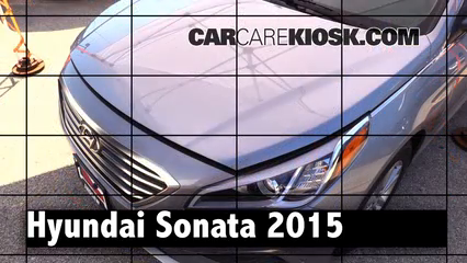 2015 Hyundai Sonata SE 2.4L 4 Cyl. Review