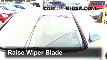 2015 Hyundai Sonata SE 2.4L 4 Cyl. Windshield Wiper Blade (Front) Replace Wiper Blades