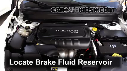 2015 Jeep Cherokee Latitude 2.4L 4 Cyl. Brake Fluid