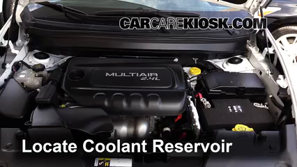 2015 Jeep Cherokee Latitude 2.4L 4 Cyl. Coolant (Antifreeze)