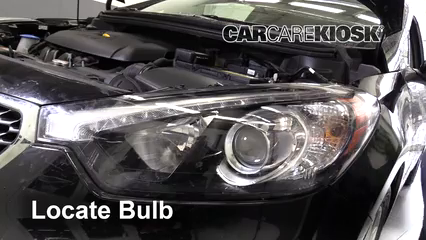 Headlight Change 2014 2016 Kia Forte5 2015 Kia Forte5 Ex 2 0l 4 Cyl