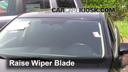 2015 Mazda 6 Sport 2.5L 4 Cyl. Sedan (4 Door) Windshield Wiper Blade (Front) Replace Wiper Blades