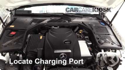 How to Add Refrigerant to a 2015-2019 Mercedes-Benz C300